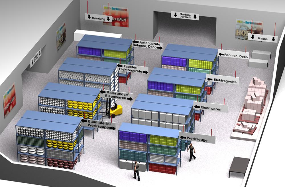 3d visualisierung architekturmodelle for Einrichtung planen 3d