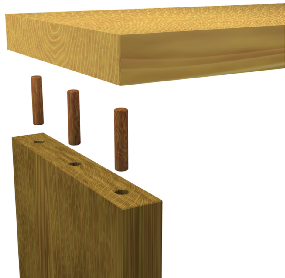 3d modelle zum thema holz. Black Bedroom Furniture Sets. Home Design Ideas